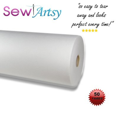 embroidery stabilizer roll